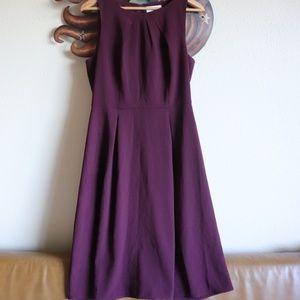 Elle Maroon Dress